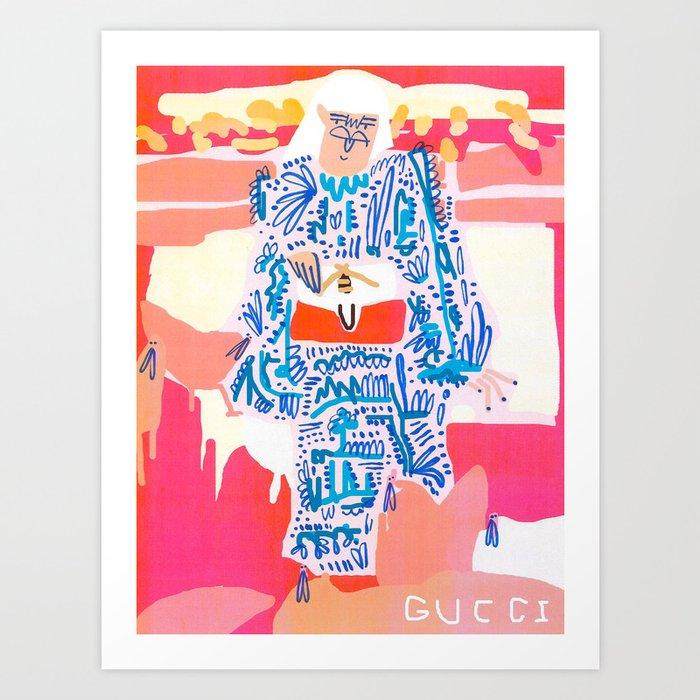 Under Dressed Art Print