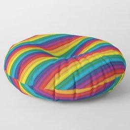 HD Rainbow Floor Pillow