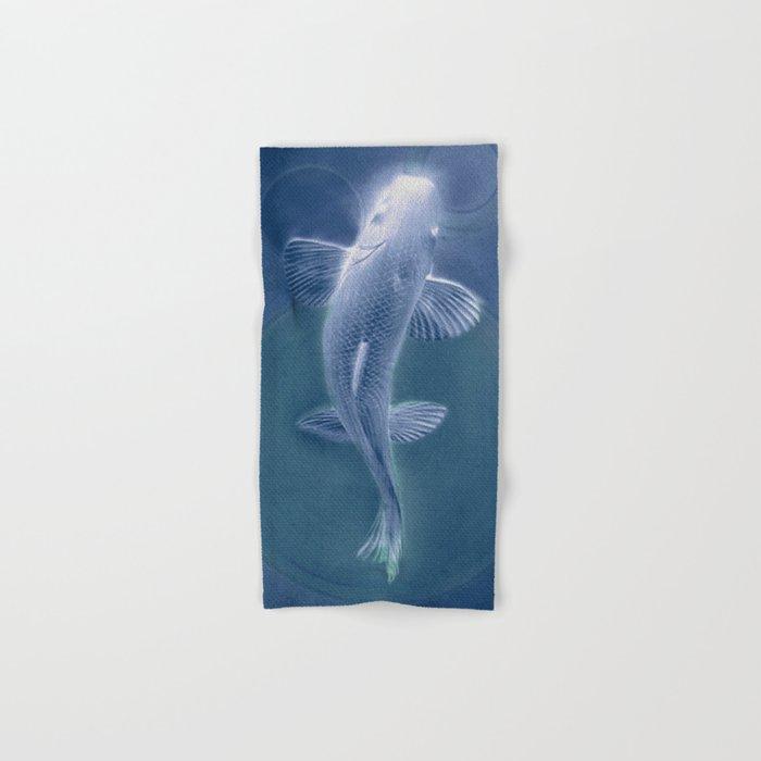 知識に歩く (Walk to Knowledge) blue Hand & Bath Towel