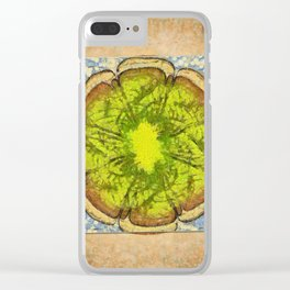 Unhomogeneously Web Flowers  ID:16165-145643-84011 Clear iPhone Case