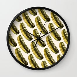 Pickle Pattern Wall Clock