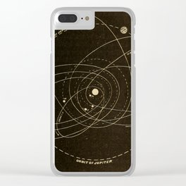 Astronomy for the Use of Schools and Academies (1882) - Orbits of Several Comets Clear iPhone Case