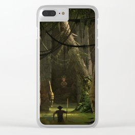 The Tomb of Okunamul Clear iPhone Case