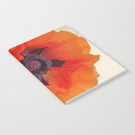Beautiful Poppy Notebook