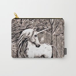Rustic Style - Unicorn Carry-All Pouch