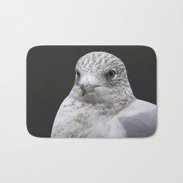 Seagull Winter close-up Bath Mat