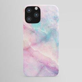 Iridescent marble iPhone Case