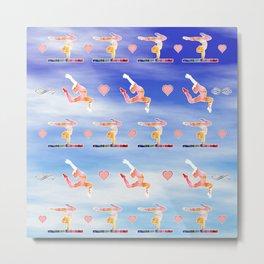 Gymnastics Metal Print