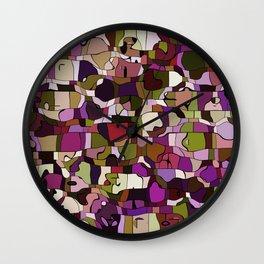 Abstract animals Wall Clock