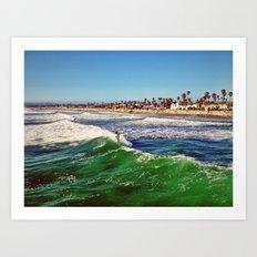 Surf Air Art Print