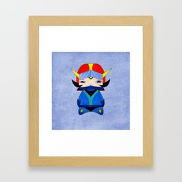A Boy - Koji Kabuto aka Alcor (Grendizer - Goldorak Framed Art Print