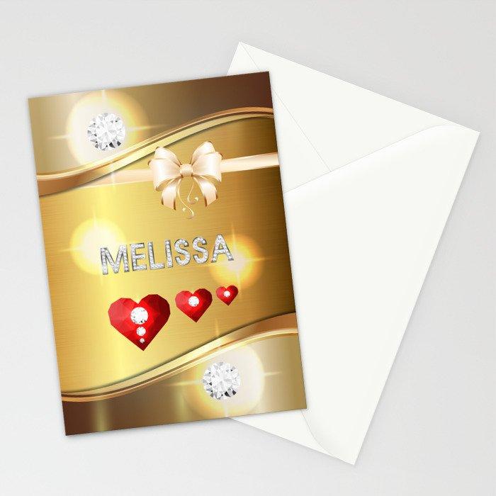 Melissa 01 Stationery Cards