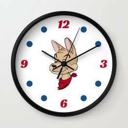 Ooboo and friends: Ooboo Poster Wall Clock
