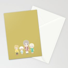 Girls in their Golden Years Stationery Cards