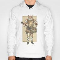 banjo Hoodies featuring Banjo Cat by Felis Simha