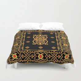 pattern of the past 1 Duvet Cover