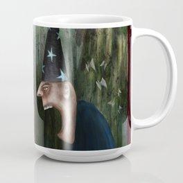 Trouble at the Magic Show Coffee Mug