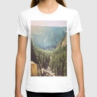 the mountains are calling T-shirts featuring The Mountains Are Calling by Madeleine Johnson