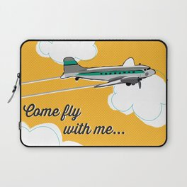 Come fly with me... Laptop Sleeve