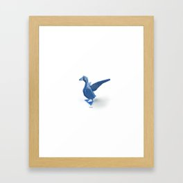 duck. Framed Art Print