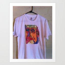 Mr. Fats T  Shirt Art Print