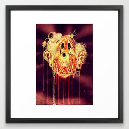 The Saddest Clown Framed Art Print