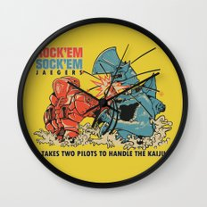 ROCK 'EM, SOCK 'EM JAEGERS Wall Clock