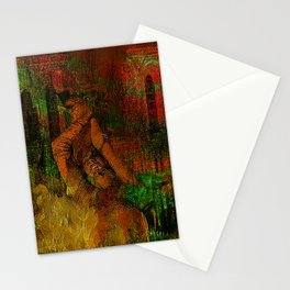 The last minutes of Joan of Arc Stationery Cards