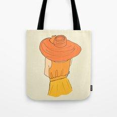 Orange Ombré Tote Bag