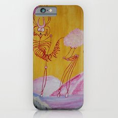 Thin Cartoon Deer iPhone 6s Slim Case