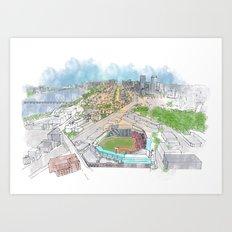 Fenway Park Art Print