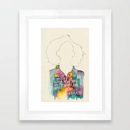 Kilo Kish Framed Art Print