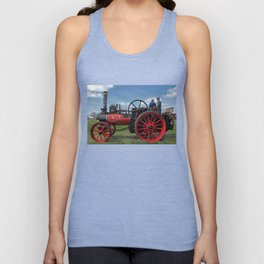 Chieftain traction engine Unisex Tank Top