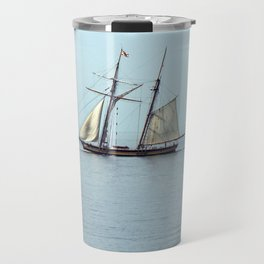 Sailing back in time Travel Mug
