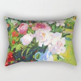 In the summer garden Rectangular Pillow