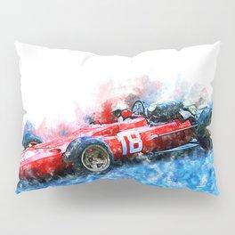 Lorenzo Bandini, Monaco, 1967 Pillow Sham