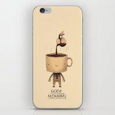 good morning. iPhone & iPod Skin