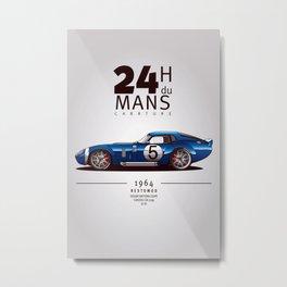 24 Heures du Mans  Metal Print