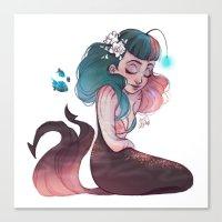 scorpio Canvas Prints featuring Scorpio by Laia™