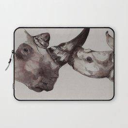 Rhino Love Laptop Sleeve