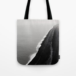 BLACK SAND BEACH Tote Bag