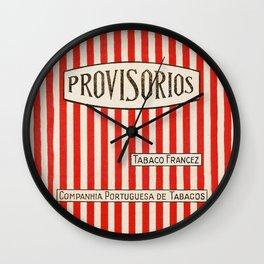 Provisorios - Vintage Cigarette Wall Clock