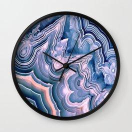 Agate ornaments Wall Clock