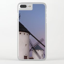 Don Quixote sunset Clear iPhone Case