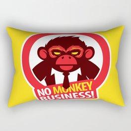 No MONKEY Business! Rectangular Pillow