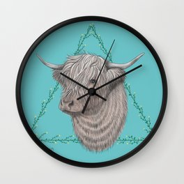 Bos Taurus Wall Clock