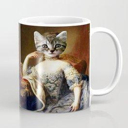 Pretty Kitty Sitting Coffee Mug