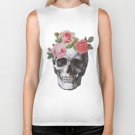 Skull & Roses Biker Tank
