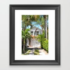 Piece of Paradise Framed Art Print