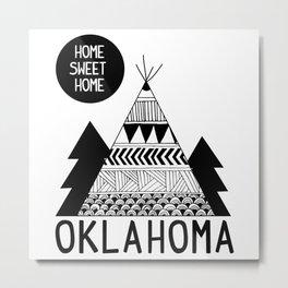 Oklahoma Metal Print